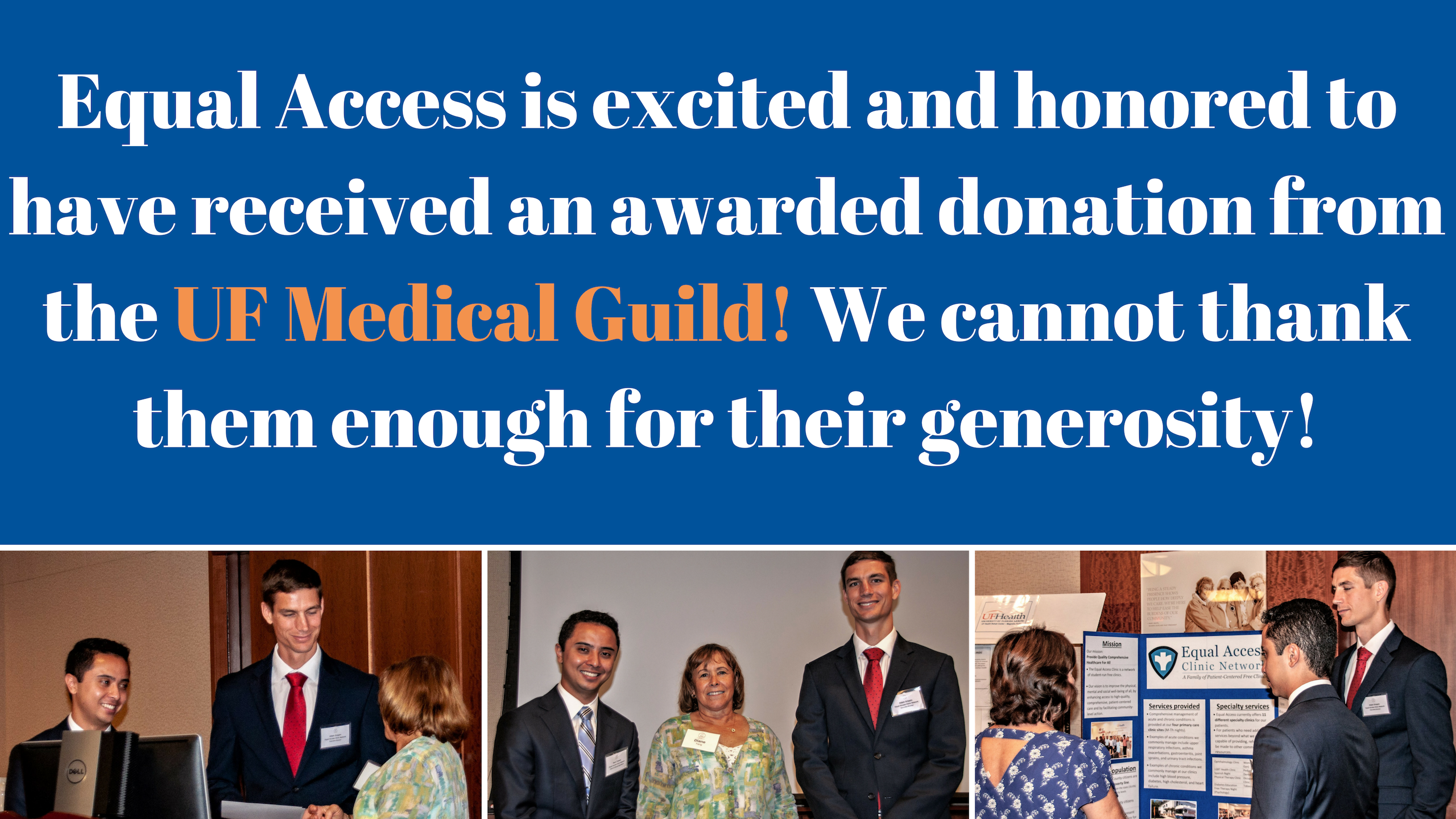 Equal Access thanks Medical Guild