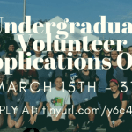 VOLUNTEER APPLICATION FLYER